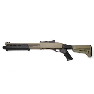 "Dominator™ DM870 Shell-Ejecting Shotgun ( 14"" Barrel Tactical MP Cerakote ) ( FDE )"
