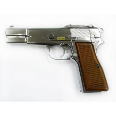 WE Browning Hi-Power M1935 GBB Pistol  (Chrome )
