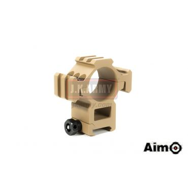 AIM-O Tri-Side Rail Extend 30mm Ring Mount Type 1 ( DE )