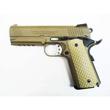 WE Desert Warrior 4.3 OPS Full Metal GBB Pistol (Tan)