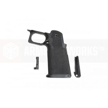 ARMORER WORKS AW 5.1 HX Hi-Capa Grip with Housing ( BK Mag Catch Type )
