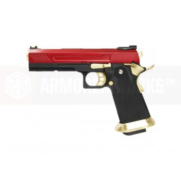 AW Custom™ 5.1 HX1103 Hi-Capa GBB Airsoft Pistol ( Red )