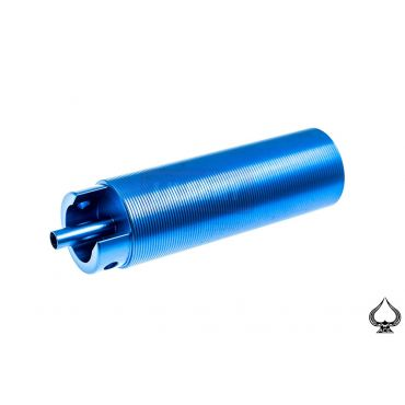 A1A AEG Cylinder Set for Ver.3 Gearbox ( Aluminum One Piece Blue )