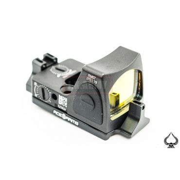 Ace One Arms RMR Style Control Sensor Red Dot Sight On / Off with DD Style Red Dot Back Up Sight Base for G Model ( Black )