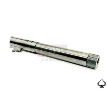 Ace One Arms TM Hi-Capa 5.1 Stainless Steel Threaded 14mm+ CW Bull Barrel ( Black with Titanium Coating ) ( 9x19 Marking )