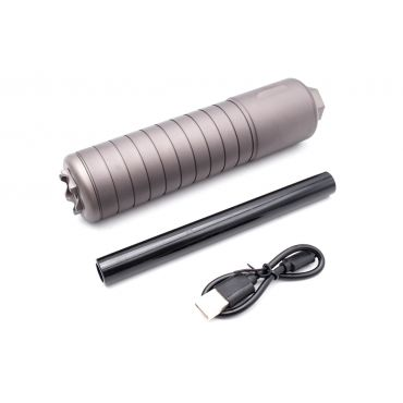 ARTISAN SRD762 Style 14mm CCW Dummy Silencer with Tracer for Airsoft ( ACETECH AT2000 Tracer Inside )