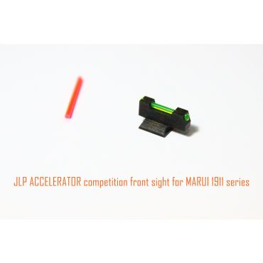JLP ACCELERATOR Fiber Optic Front Sight for Tokyo Marui 1911 GBBP Series