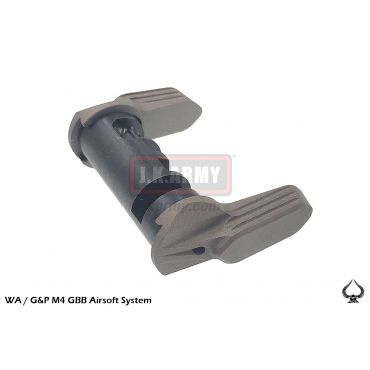 Ace1 Arms A Style 45/90 Degree Safety Selector for WA / G&P M4 GBB System ( FDE ) ( AXT5 )