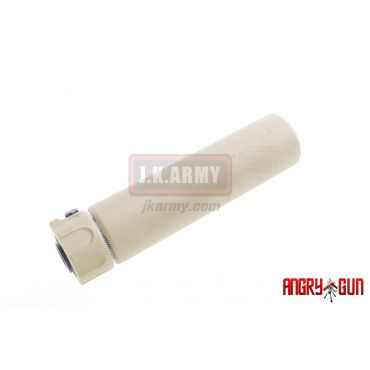 Angry Gun Socom556 Dummy Silencer with 4 Prone Flash Hider ( DE ) ( Pre-Order)