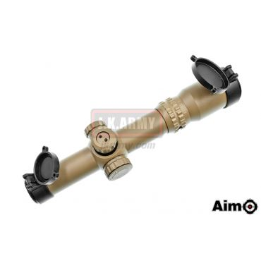 Aim-O 1-4x24SE Tactical Scope ( Red / Green Reticle ) ( DE ) ( NF Style )
