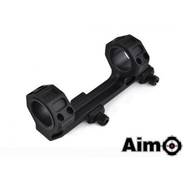 AIM GE Style Short Version Scope Ring Mount ( BK )