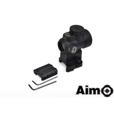 AIM MRO Style Red Dot Sight with High Mount ( BK )