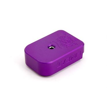 AIP CNC Limcat Magazine Base for Marui Hi capa ( Purple )