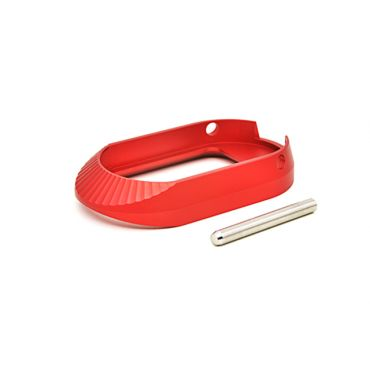 AIP Aluminum Magwell - Type 3 ( Red / No marking )