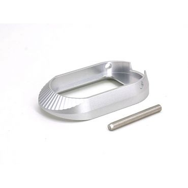 AIP Aluminum Magwell - Type 3 ( Silver / No marking )