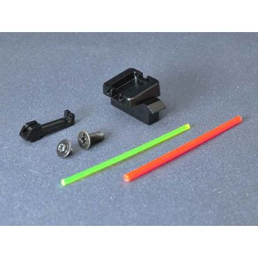 AIP Alumimun Sight Set ( Fiber Optic ) for Marui G17