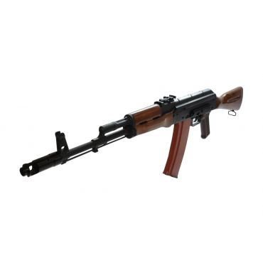 WE AK74 Real Wood GBB Rifle