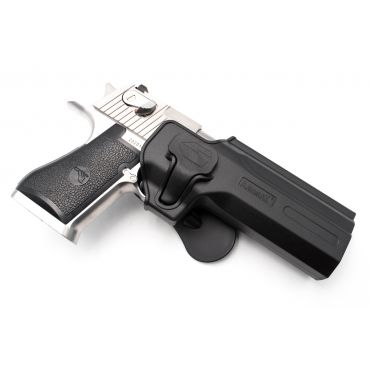 AMOMAX Paddle Holster for Desert Eagle L6 .50AE GBB ( Black )