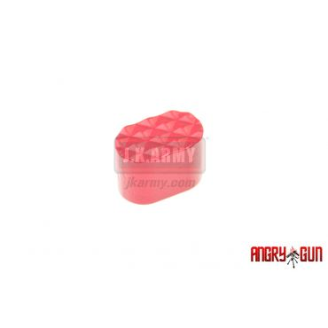 Angry Gun Bullet Magazine Release Botton for AG Ambi Magazine Release ( Red )