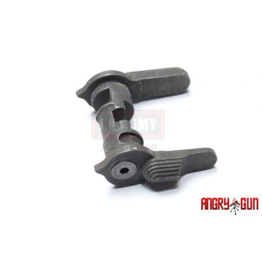 Angry Gun CNC Steel Ambi Selector for WE M4 GBB