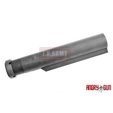 Angry Gun Mil-Spec CNC 6 Position Buffer Tube for TM MWS GBB ( BK )