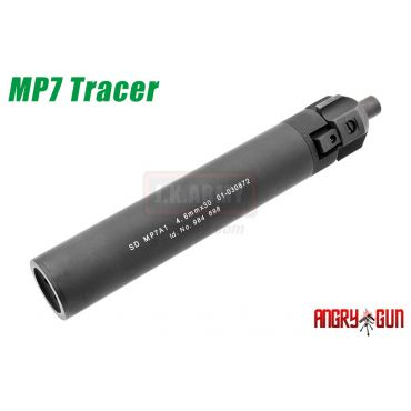 Angry Gun MP7 SMG QD Silencer AT2000 UV Tracer Kit ( Black ) ( Acetech )