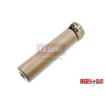 Angry Gun Socom556 Dummy Silencer with 4 Prone Flash Hider ( DE ) ( Normal )
