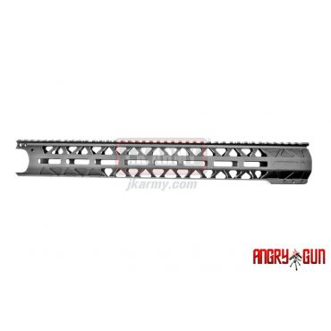 Angry Gun WCRS Style GEN2 Ver. M-LOK Rail 16.2Inch WE GBB Type ( Black )