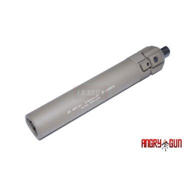 Angry Gun Power Up QD Silencer for KSC / KWA / Umarex MP7 SMG ( TAN )