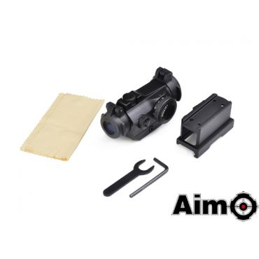 AIM-O T2 Red Dot With QD Mount & Low Mount ( BK )