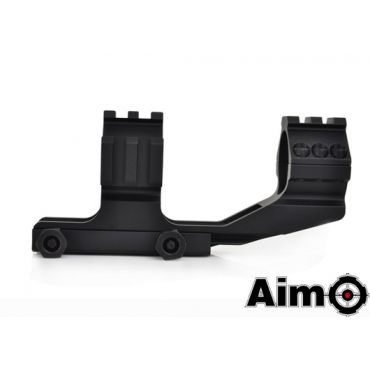 AIM-O Tri-Side Rail Extend 30mm Ring Mount (BK)