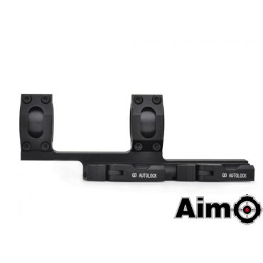 Aim-O Tactical Top Rail Extend 25.4-30mm Mount ( BK )