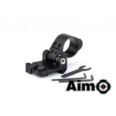 AIM Flip To Side QD Mount 30mm ( BK )