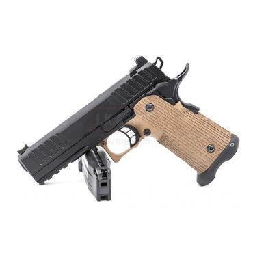 ARMY ST Style Staccato P R603 GBB Pistol ( Black , DE Frame )