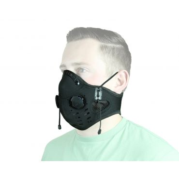 ATV TEK ELITE Series Neoprene Dust Mask Black ( #EDMBLK )