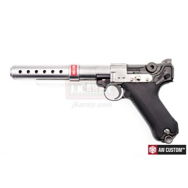 """AW Custom Built Luger P08 6"""" Pistol with Muzzle Device ( Star War Style ) ( Limited Edition Custom ) ( K00002+K00003 )"""