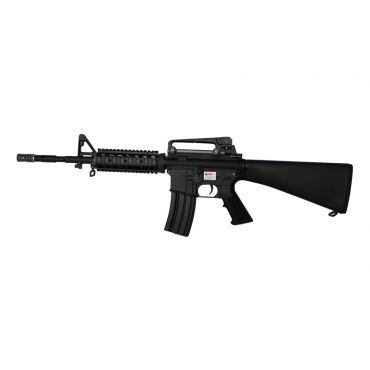 WE Full Metal SR16 RAPTOR KATANA Airsoft AEG Rifle ( BK )