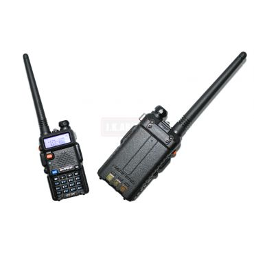 BAOFENG UV-5R Portable Two-Way Radio ( VHF / UHF ) Dual-Band Transceiver