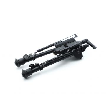 Alpha 9-13 Inch Adjustable Spring Return Bipod with Fast Lock