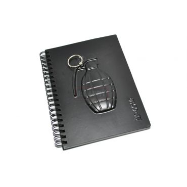 Black 4 Notebook - Grenade