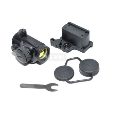 BlackMIC Type11 Red Dot Scope w/ QD High and Low Mount 11Lv Bright ( BK )