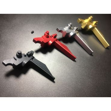 Bow Master 7075 Aluminum Trigger for Systema PTW M4 / AR / 416 ( Type A )