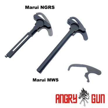 Angry Gun L119A2 Charging Handles Latch - Marui Version ( For Marui MWS / NGRS EBB ) ( TM MWS )