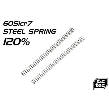 C&C 120% Steel Loading Nozzle Spring For G Model / G Series ( 2pcs )