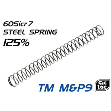 C&C 125% Ultra Recoil Steel Spring For TM M&P9 Series
