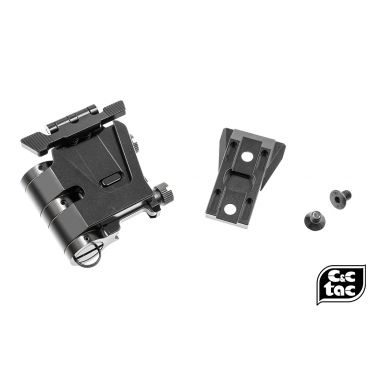 C&C Airsoft Flip Mount For G33 / G32 3x Magnifier ( Glossy Black )