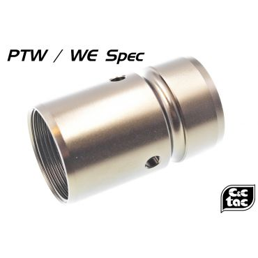 C&C PTW / WE Barrel Nut For MK16 / MK18 Rail Type Airsoft Ver.
