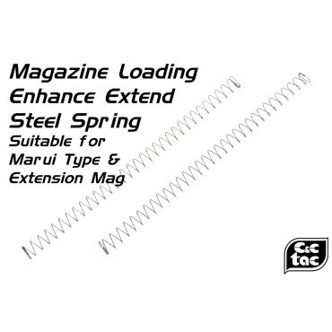 C&C Magazine Loading Enhance Extend Steel Spring for Marui Type ( Marui M&P / G Model / Extension Mag ) ( 2pcs )