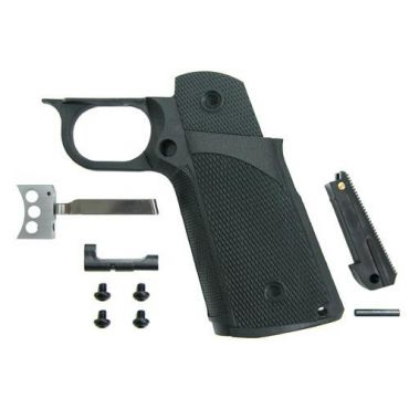 Guarder Tactical Grip Set (Black) For MARUI HI-CAPA GBBP ( BK )