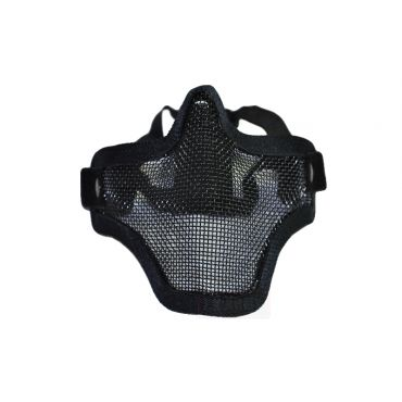CM01 Strike Steel Half Face Mask Dual Belt Ver. ( Black )